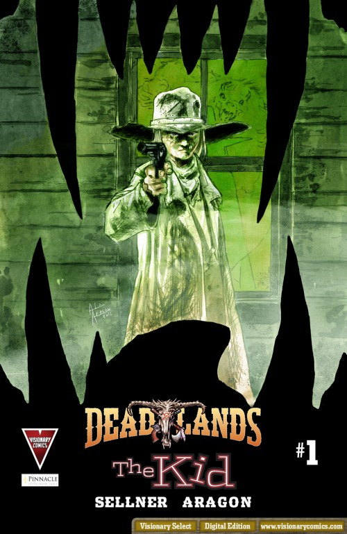 Deadlands_TheKid cover