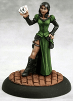 Female Huckster Savage Worlds Mini