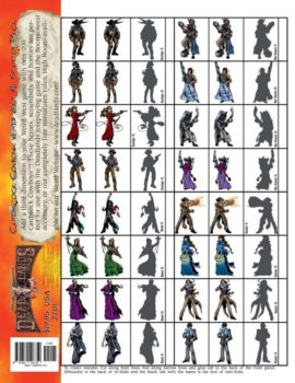Deadlands Figures: Cardstock Cowboys Starter