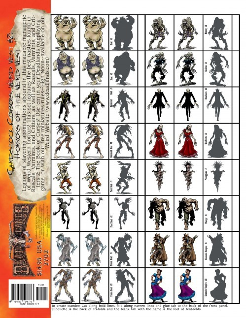 Deadlands Figures: Horrors of the Weird West