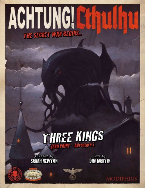 Achtung! Cthulhu - Zero Point - Part 1 - Three Kings