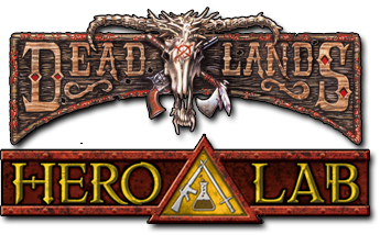 Deadlands Hero Labs