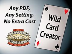 Wild Card Creator Kickstarter