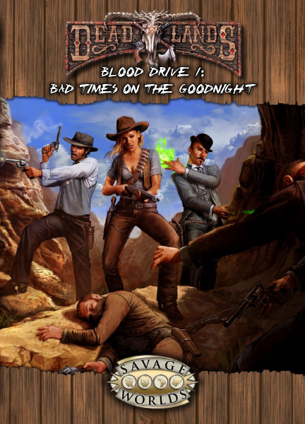 Blood Drive 1: Bad Times on the Goodnight PDF