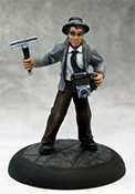 Muckraker Lacy O'Malley Deadlands Miniature