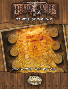 Deadlands Temple of the Sun Tile Map