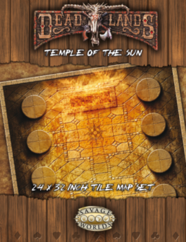 Temple of the Sun Deadlands Tile Map PDF