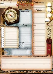 Character Sheets | Pinnacle Entertainment Group