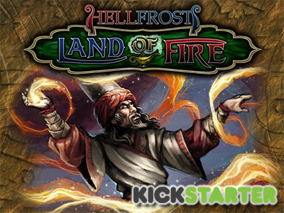 Lands of Fire Kickstarter
