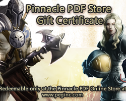 Pinnacle Gift Certificate