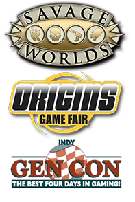 Savage Worlds at Origins and Gen Con