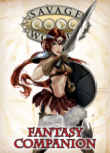 Savage Worlds Fantasy Companion in Print from Studio 2 Publishing