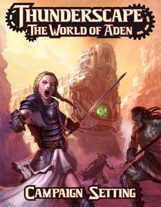 Thunderscape: World of Aden Kickstarter