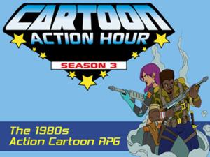Cartoon Action Hour Kickstarter Campaign