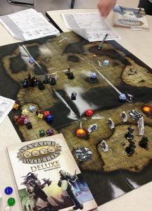 Gaming Table at GarnetCon