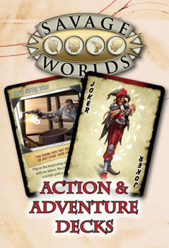 action adventure deck