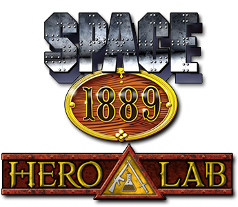 Space 1889 in Hero Lab