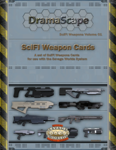 DramaScape SciFi Weapons Cards