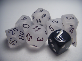 Deadlands Noir Dice