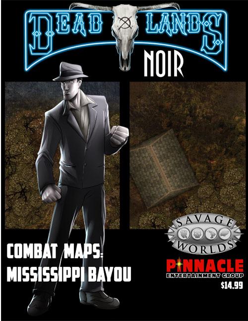 Deadlands: Noir Map Mississippi Bayous -  Studio 2 Publishing