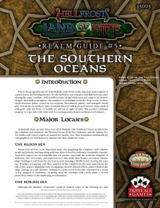 Land of Fire Realm Guide to the Southern Oceans