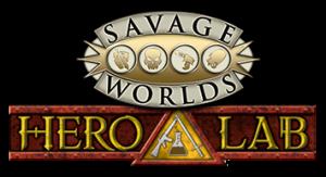 Savage Worlds in Hero Lab