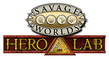 Savage Worlds in Hero Lab