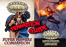 Super Powers Companion Transition Guide