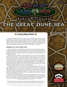 The Great Dune Sea
