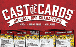 Cast of Cards