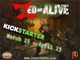 Zed or Alive Kickstarter