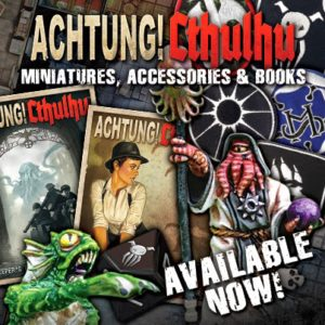 Achtung! Cthulhu Minis, Accessories, and Books on the Modiphius Web Store