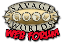 Savage Worlds Web Forum