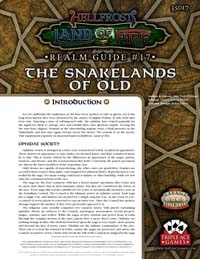 The Snakelands Realm Guide for Hellfrost: Land of Fire