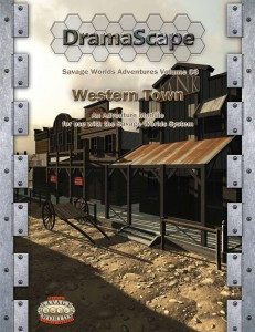 DramaScape's Western Town