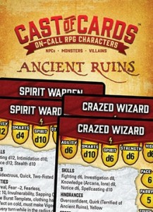 Cast of Cards: Ancient Ruins