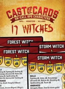 Cast of Cards: Witches