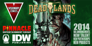 Deadlands in Visionary Comics