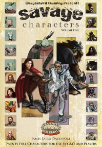 Savage Characters, Volume 1 from Dragonlaird