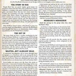 Taxidermist's Tale - A Deadlands One-Sheet Adventure