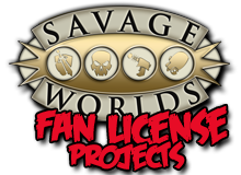 Savage Worlds Fan License Projects