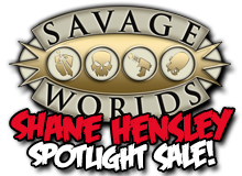 Shane Hensley Spotlight Sale on DriveThruRPG