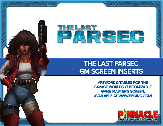 The Last Parsec Custom GM Screen Inserts (PDF)