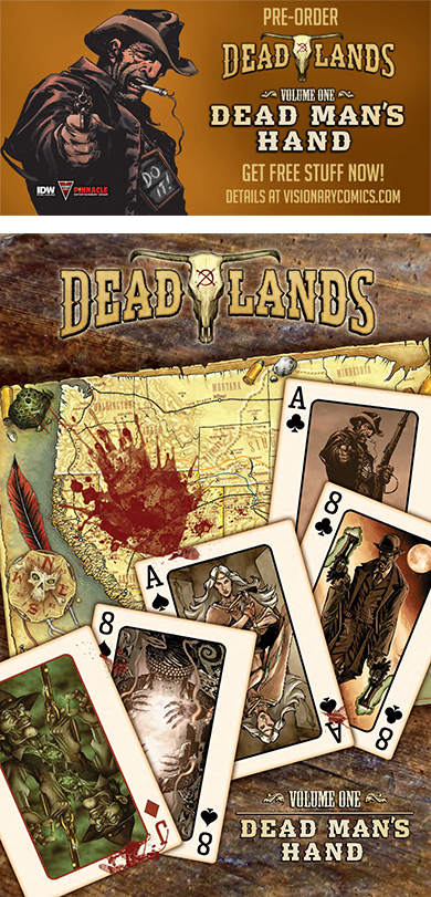 Dead Man's Hand Preorder and Preview