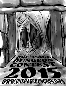 One Page Dungeon Contest 2015