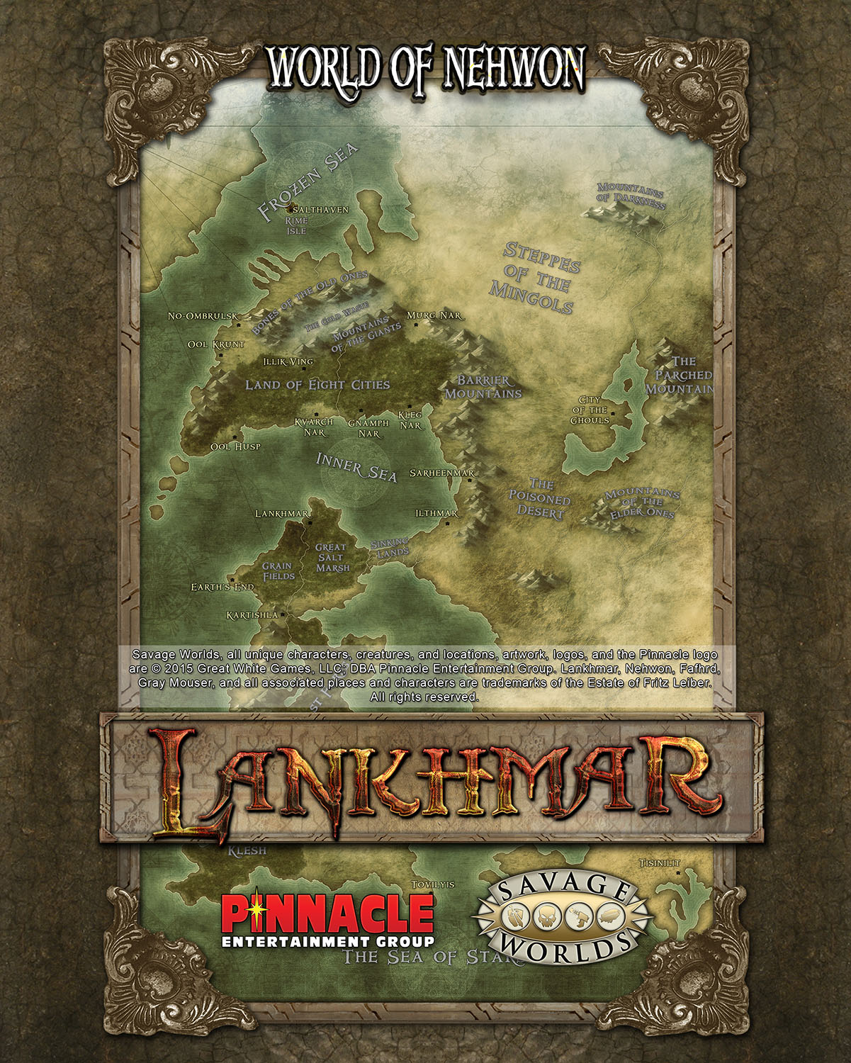 Nehwon poster map pdf pinnacle entertainment group nehwon poster map pdf gumiabroncs Images