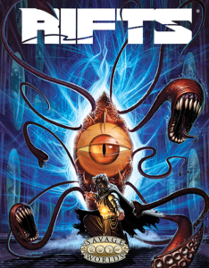 Rifts for Savage Worlds Preview Cover