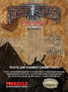 Hell on Earth Wasteland Highway Combat Map PDF
