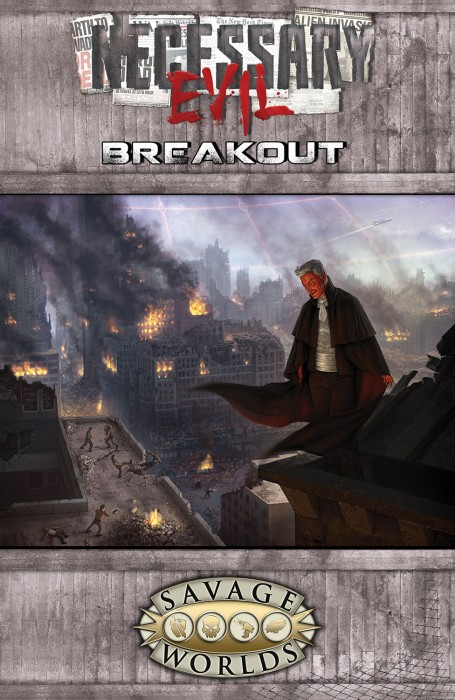 Necessary Evil: Breakout Softcover -  Studio 2 Publishing
