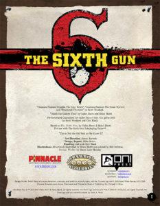 The Sixth Gun Companion